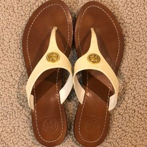 Authentic Tory Burch Dressy Flip Flops